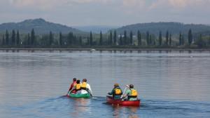 Die bezaubernde Naturkulisse des Bodensees gibt jeder Kanutour das gewisse Extra.