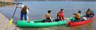 Vor der Tour werden alle Fragen geklärt: Wie paddle ich, wie wird gesteurt? Der Einstieg ist dann kinderleicht!