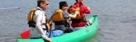 Mit Paddel und Boot geht es zu versteckten Ufern – Geheimtipp!