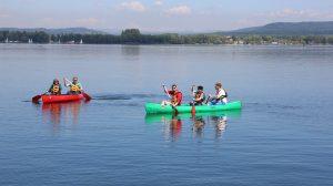 Kanutouren sind auch ein Spaß für Familien, Firmen oder Gruppen!