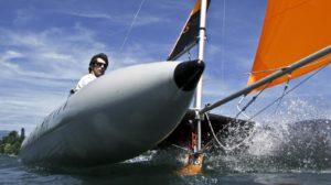 Katamaran segeln (2)