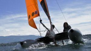 Katamaran segeln
